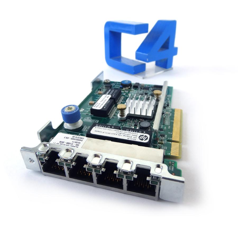 684208-B21 HP Ethernet 1Gb Quad Port 331FLR FIO Adapter 634025-001