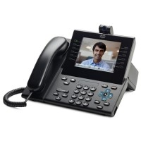 Cisco CP-9971-CL-CAM-K9 UC Phone 9971, Charcoal, Slm Hndst and Camera