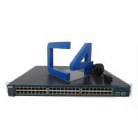 CISCO WS-C2950-SX48-S Ethernet Switch - 48 x 10/100Base-TX, 2 x 1000Base-SX